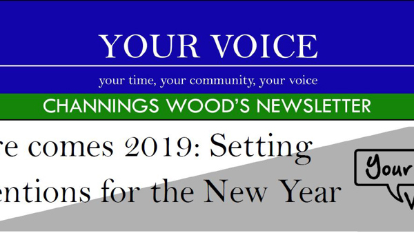 Channings Wood's Newsletter: January 2019